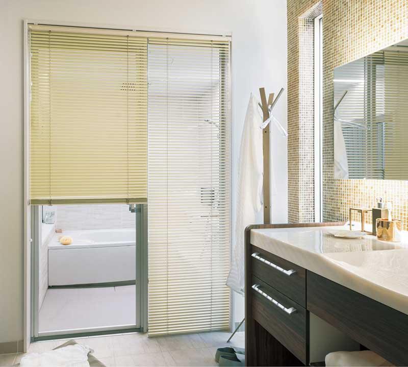 遮熱ブラインドスラット25浴窓