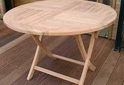 折り畳み丸テーブル (20861)