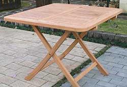折り畳みスクエアテーブル B (20713)
