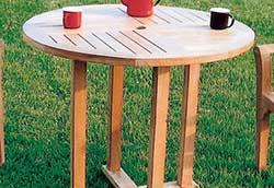 丸テーブル0909 (20706)