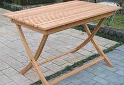 折り畳みスクエアテーブル A (20862)
