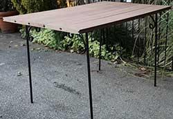 人工木テーブル (34285)