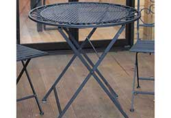 折り畳みアイアンテーブル2型 (32354)