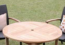 コンビネーションテーブル 丸天板1010 (36352)