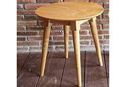 ラウンドサイドテーブル (41156)