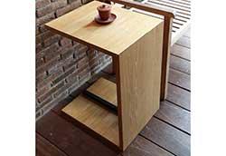 スクエアサイドテーブルA (34295)