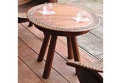 ラタンウッドテーブル (70047)