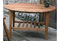 オーバルコーヒーテーブル (35220)