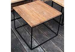 アイアンウッドキューブテーブル (34257)