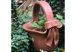 リボン花鉢 (85010)