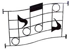 ミュージックフェンスO型 (36416)