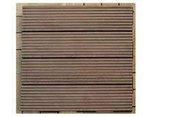 人工タイルデッキ ブラウン カートン(6枚) (39502)