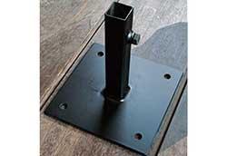 アイアンヘッドボード用 ベース (38615)